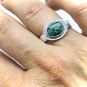 6/5/2021 - Turquoise Bezel Rings Workshop