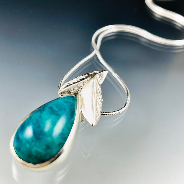 Amazonite Bloom Pendant