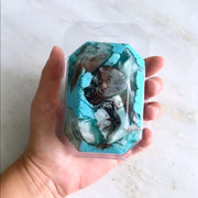 Birthstone Mineral Soap - December - Turquoise