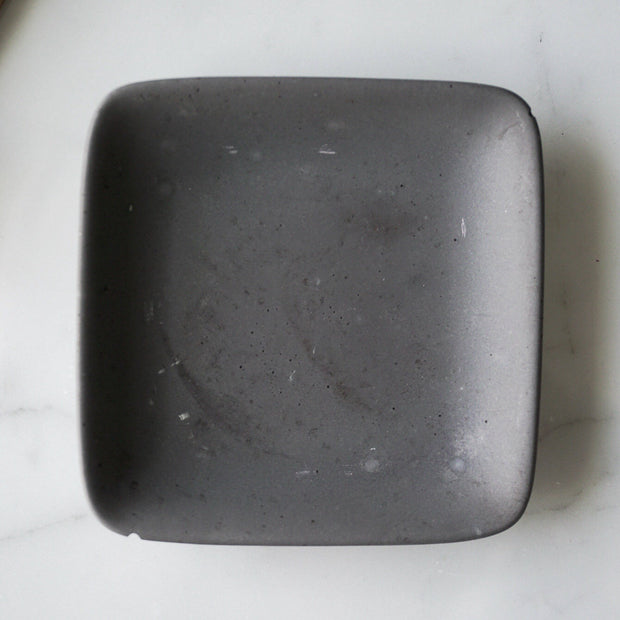 Square Concrete Jewelry Dish