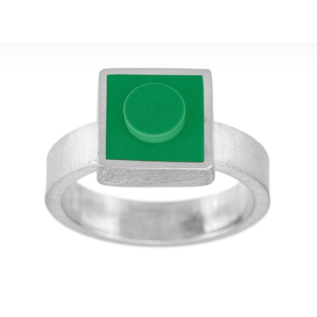 Small LEGO® brick ring