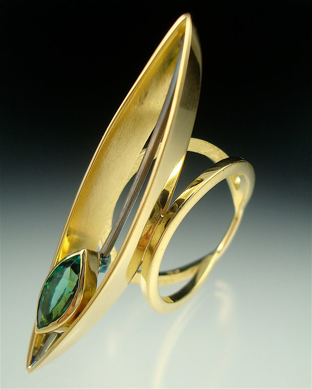 Marquise Glider Ring