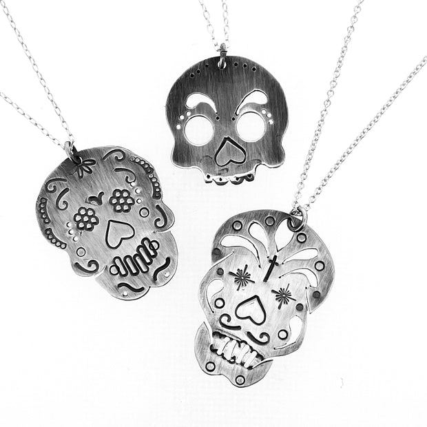 5/1/21 AM Cinco De Mayo Sugar Skull Pendants