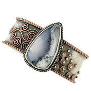 Boho Bezel Cuff Bracelet - Level Two Course - Session 2 - afternoon class
