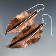 9/4/20 (FIRST FRIDAY) - Leaf Earrings - MAKE + SIP CLASS