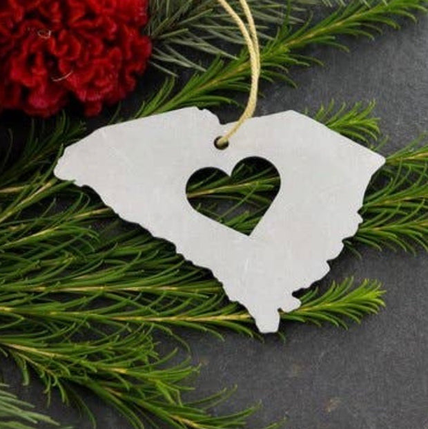 Palmetto State Christmas Ornament