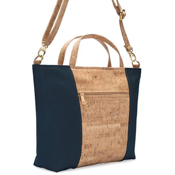 Be Versatile 2 - Three-Strap Handbag  - Rustic Cork