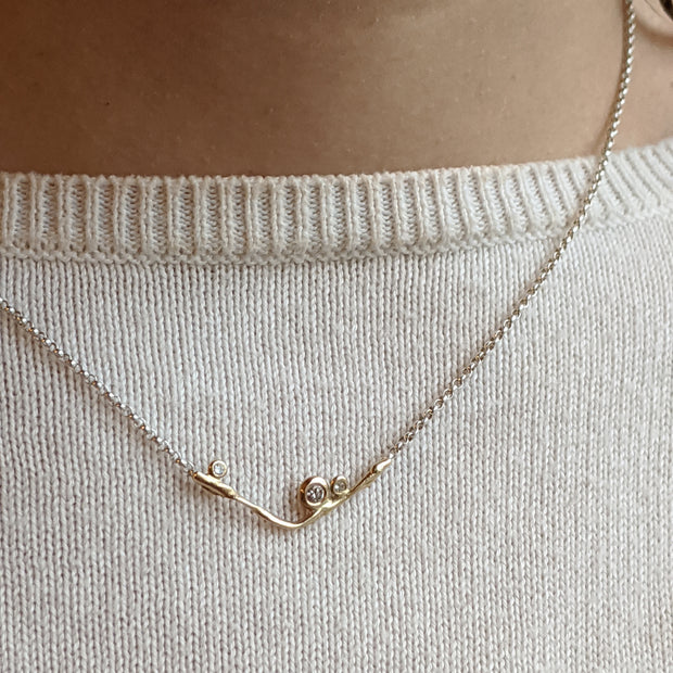 Kaitlyn Necklace - Yellow Gold