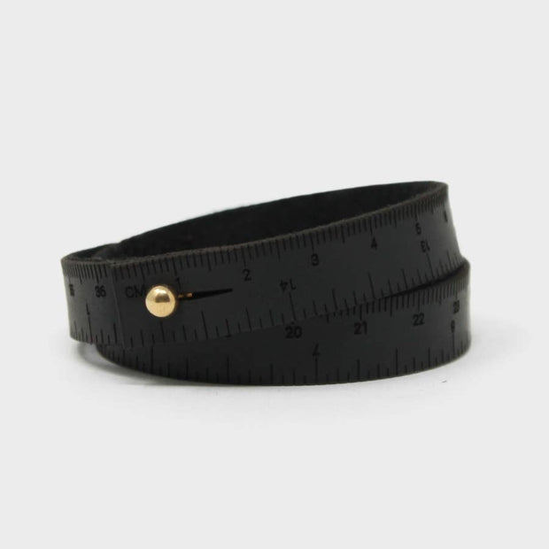 Men's Leather Wrist Ruler