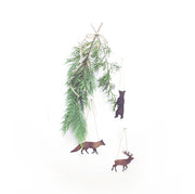 12/12/20 - Woodland Creature Ornaments - MAKE + SIP CLASS