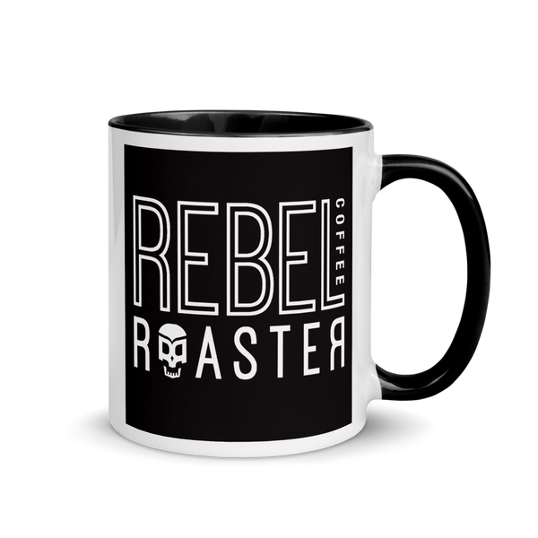 Rebel Coffee Mug with Color Inside