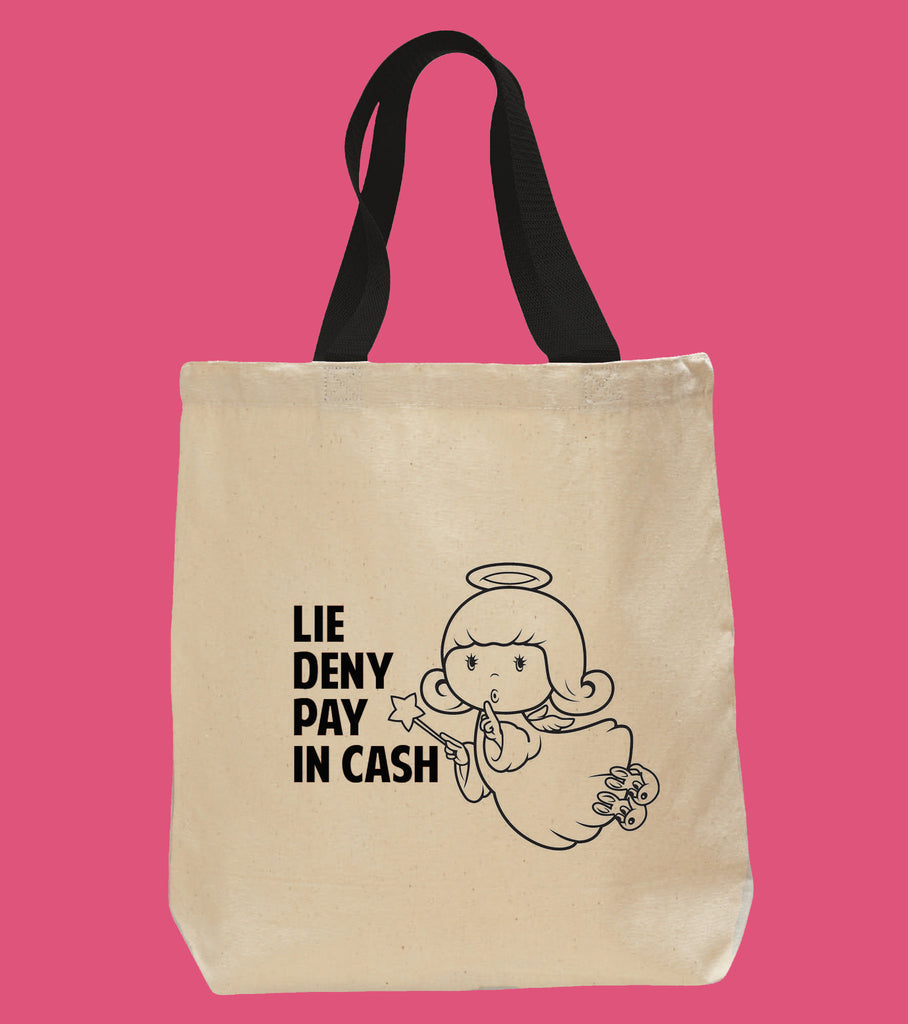 Devil Made Me Do It Love Tote