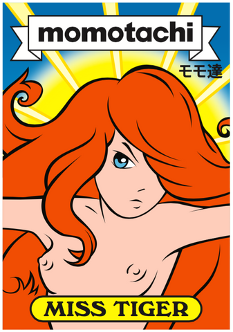 Miss Tiger Trading Card
