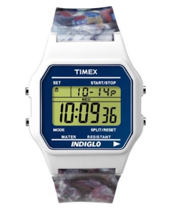 TIMEX 80 • Special Edition Good To Recycle Digital Watch