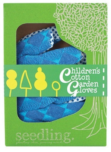 Children's Cotton Garden Gloves - Growing Potential