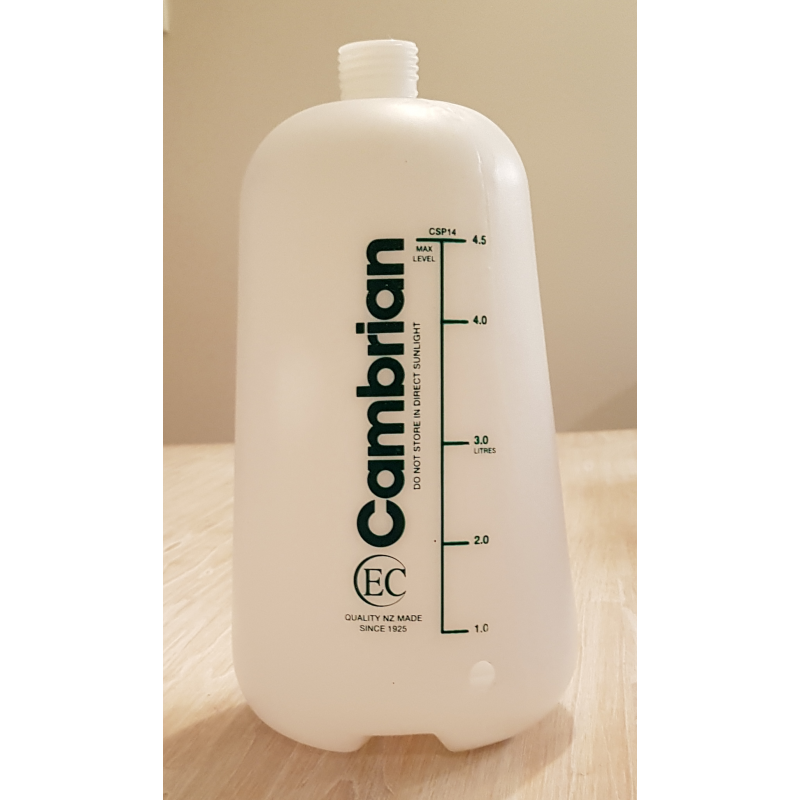 Cambrian Spray CSP14 Bottle 4.5L CSP14-Bottle - Growing Potential