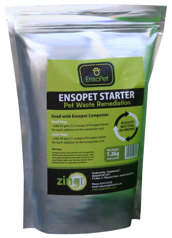 Ensopet Pet Waste Starter 1.2kg bag - Growing Potential