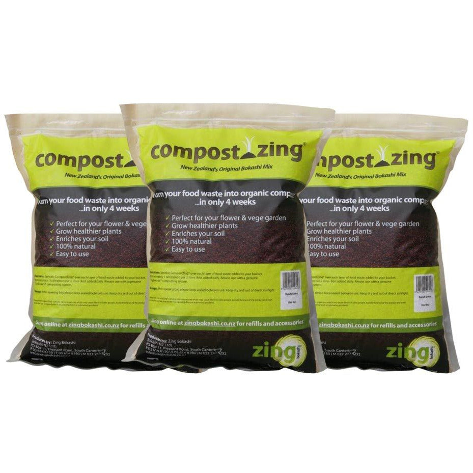 CompostZing Mix 5kg - 3 pack - Growing Potential