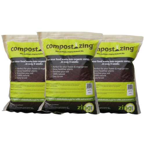 CompostZing Mix 1kg - 3 pack - Growing Potential