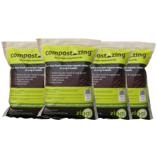 CompostZing Mix 1kg - 4 pack - Growing Potential