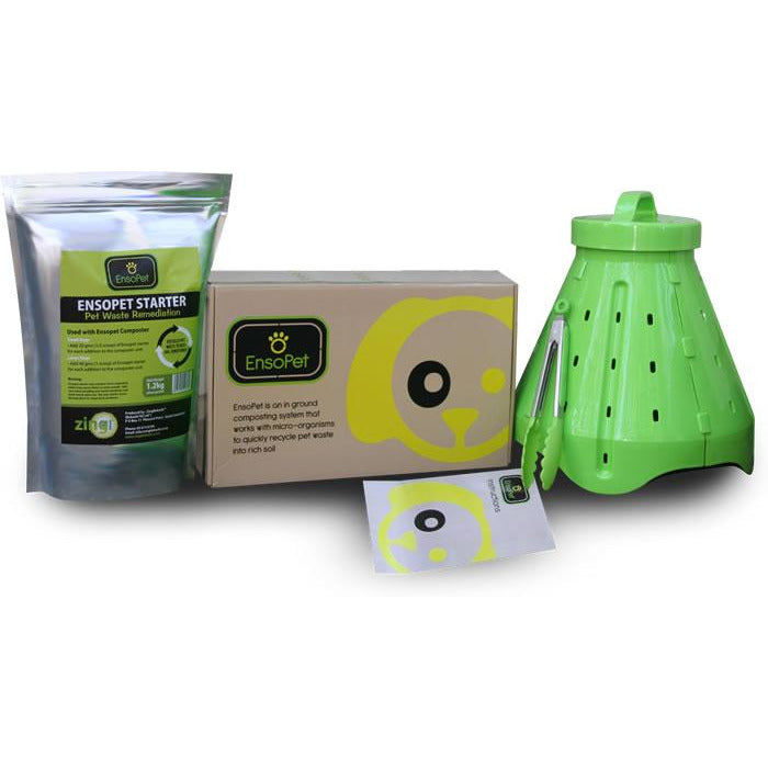 Ensopet Pet Waste Composting Kit - Growing Potential