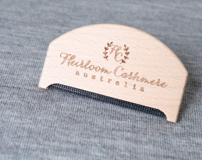 Heirloom Cashmere pilling comb