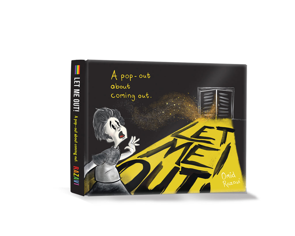 Let Me Out Book: a pop-out about coming out.