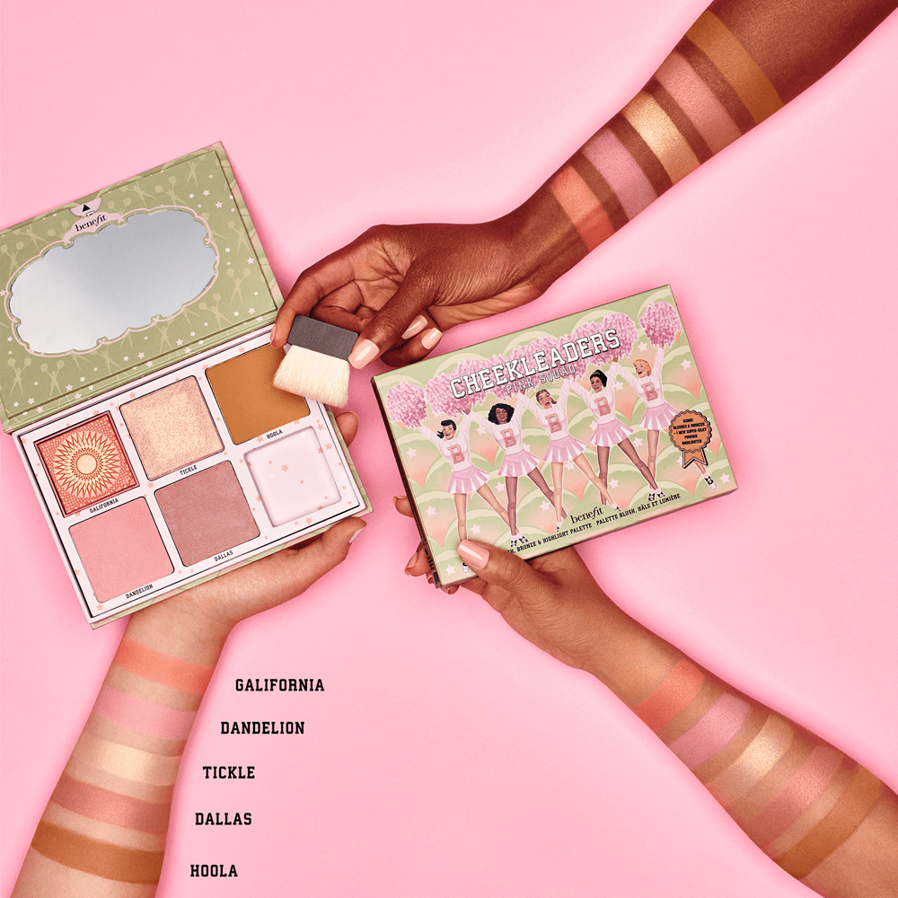 The benefit Cheekleaders Pink Squad Palettes - beautyfull