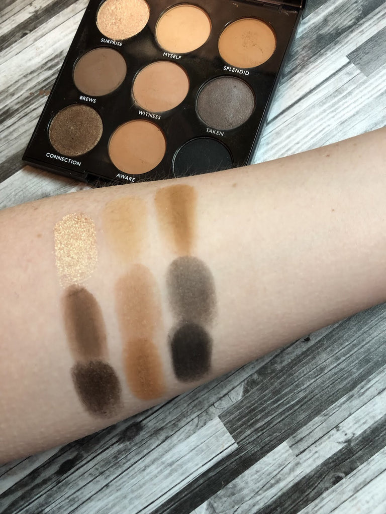 9A always golden eyeshadow palette - beautyfull
