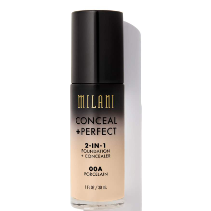 Milani Conceal And Perfect 2 In 1 Foundation And Concealer 30ml - beautyfull