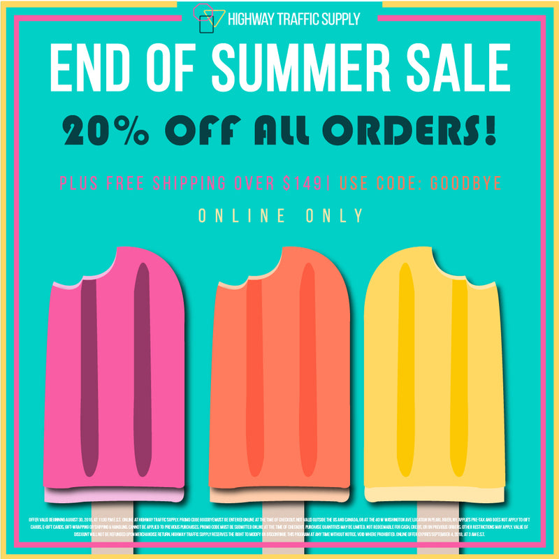 Our End of Summer Sale sarts Friday!