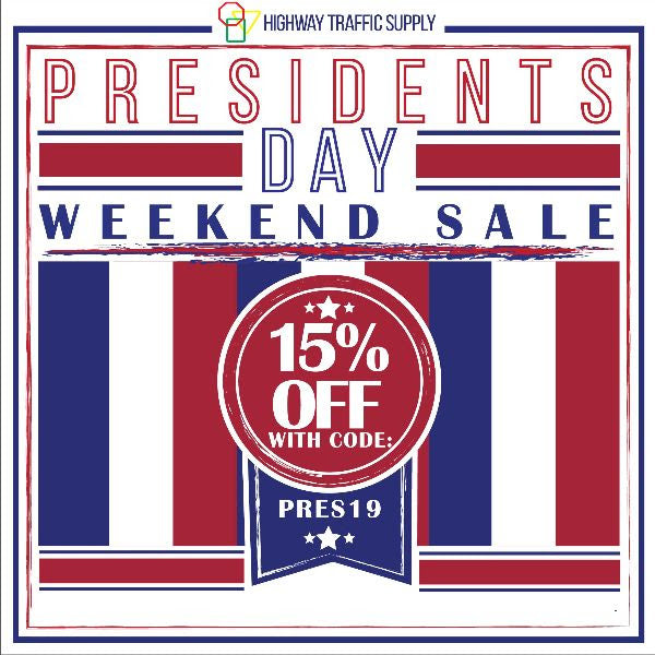 The Presidents' Day 3-Day Sale Starts NOW!🚦