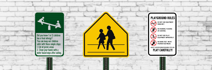 School Zone Signs | Rust-Free Aluminum | Made in USA