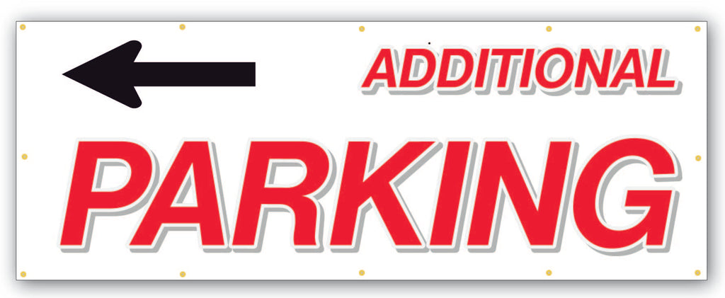 Additional Parking Banner