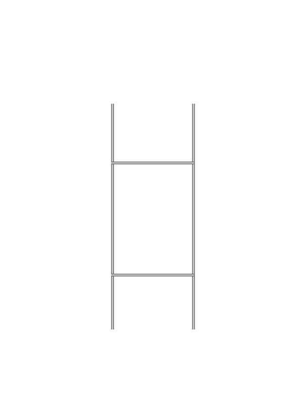 "Heavy Duty ""H"" Frame Wire Stakes"