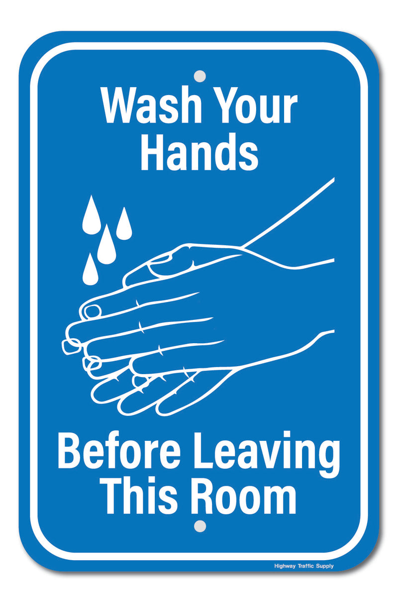 Please Wash Your Hands III Sign