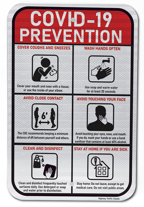 Covid-19 Prevention Sign