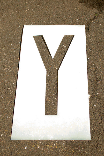 Individual Letter and Number Stencils 6""