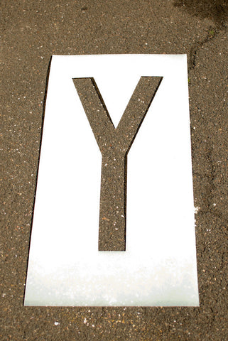 Individual Letter and Number Stencils 10""