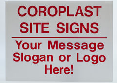"CUSTOM 18""x24"" Coroplast Lawn Signs"