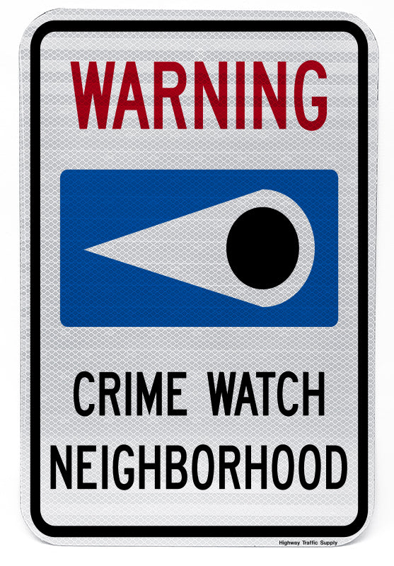 Neighborhood Watch Sign