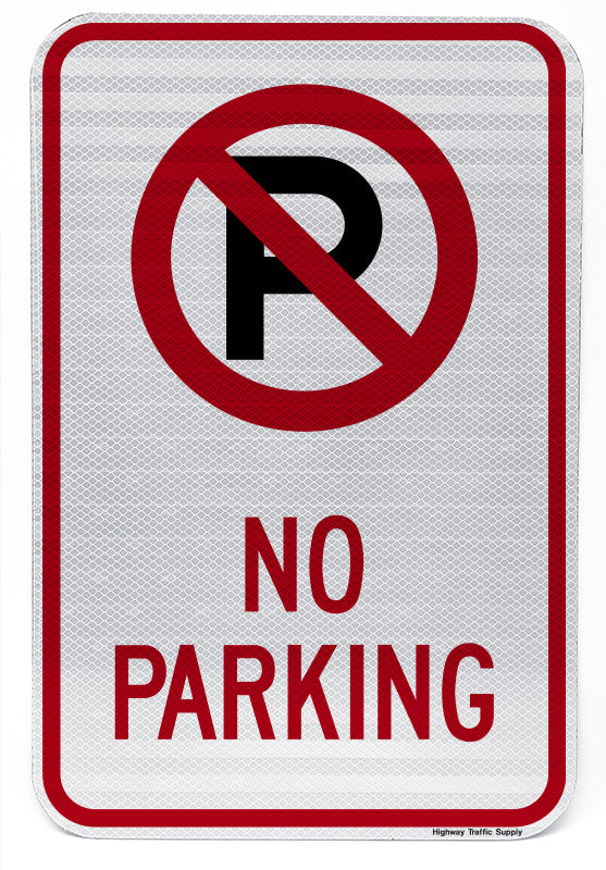 No Parking Symbol No Parking Sign