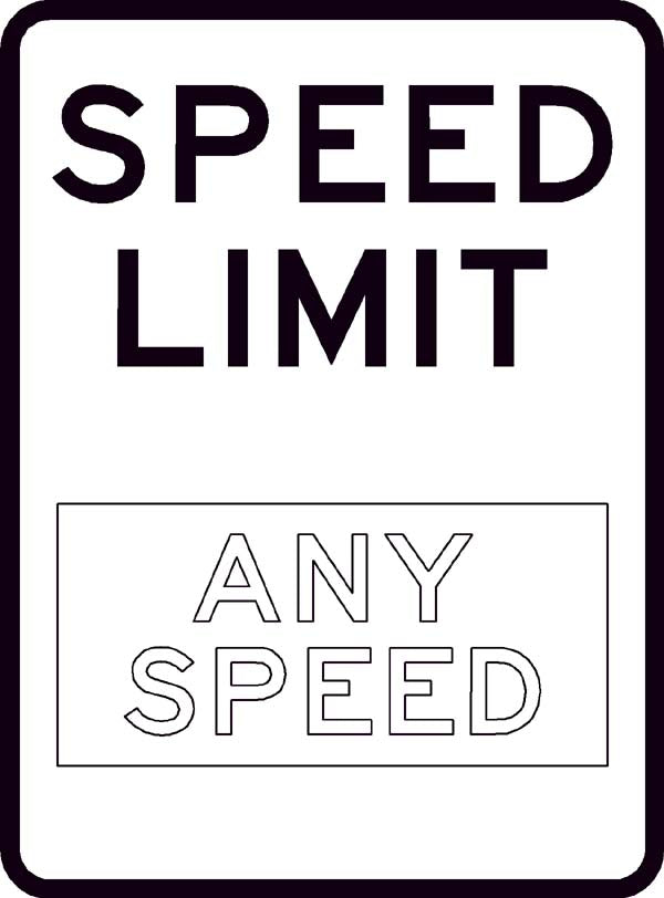 R2 Speed Limit Sign (Custom)