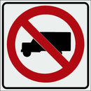 R5-2 No Trucks Sign