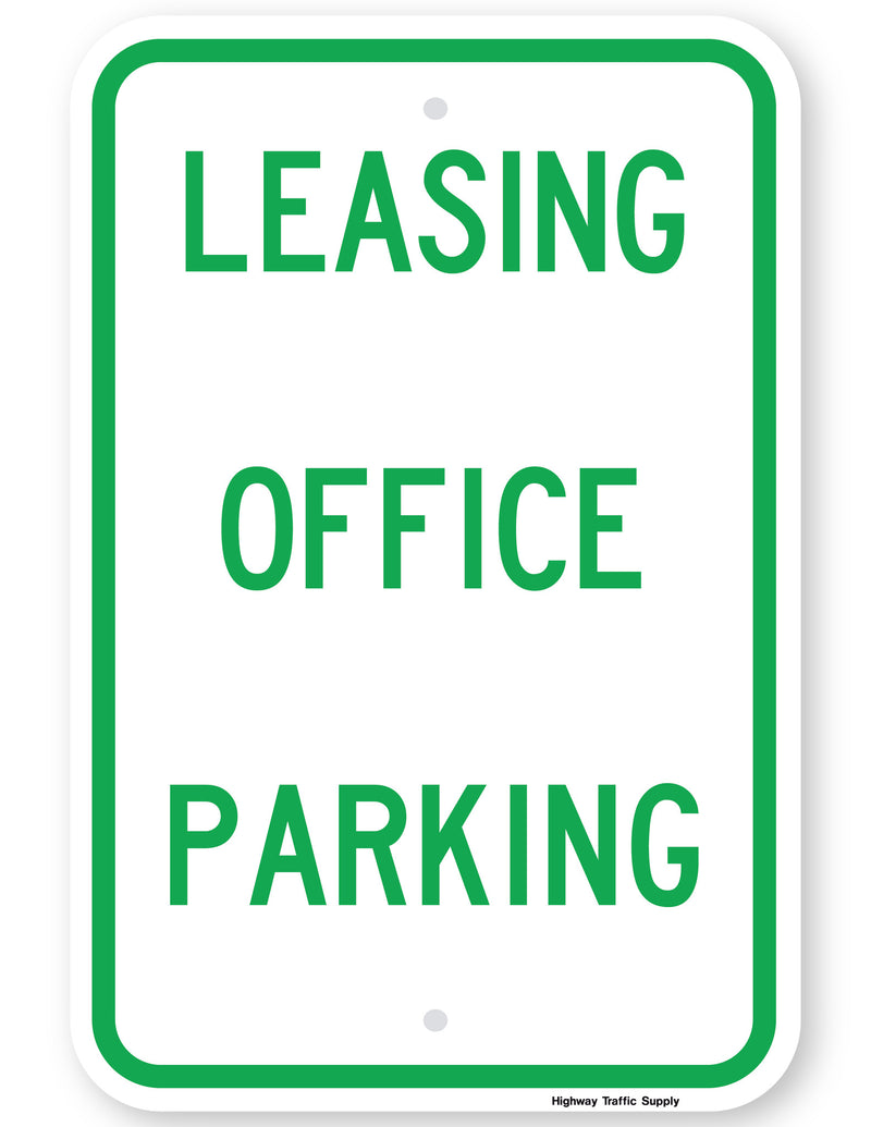Leasing Office Parking Sign