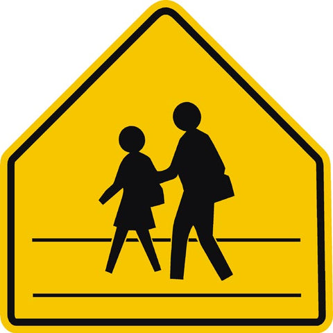 S1-1 School Area/Zone Sign