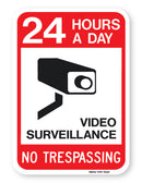 24 Hours A Day Neighborhood Watch Sign (on .040 Aluminum)