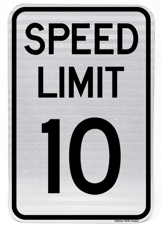 R2-1 Speed Limit Sign (10)