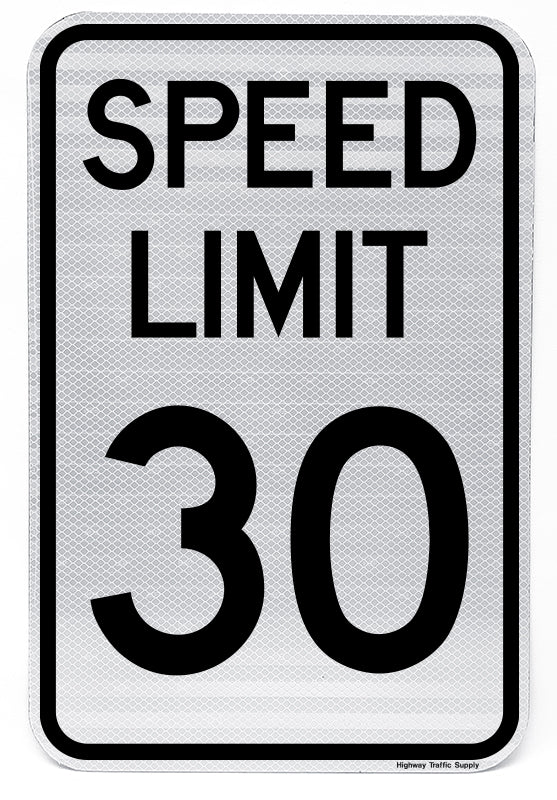R2-1 Speed Limit Sign (30)