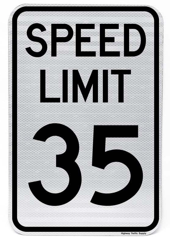 R2-1 Speed Limit Sign (35)